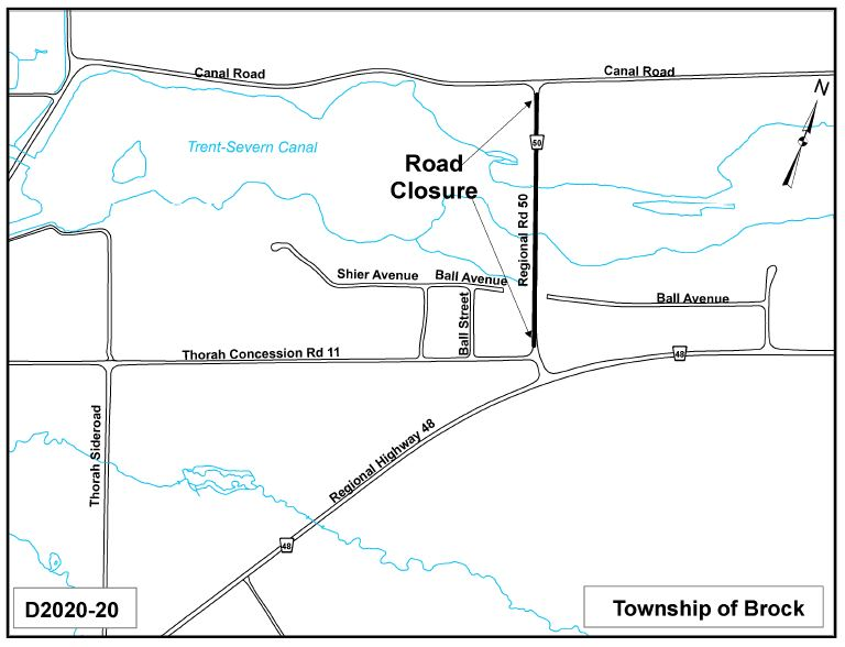 Road Closure Location