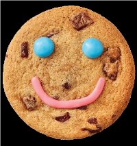Smile cookie image